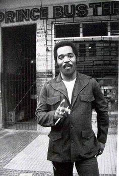 Prince Buster (Cecil Bustamente Campbell) (May 24, 1938 - September 8, 2016) Jamaican musician, songwriter and businessman.