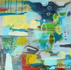 """Saatchi Online Artist: Lesley Grainger; Acrylic, 2012, Painting """"Don't Give Up"""""""