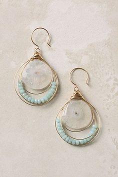 Anthropologie Stellar Drops Earrings. I like the loop over loop styleof these.