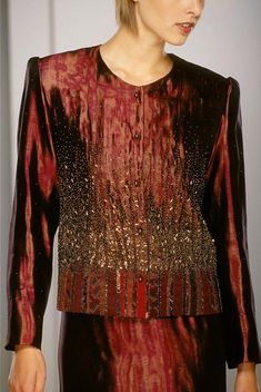 Beaded and Appliquéd Jackets - Ann Williamson Designs