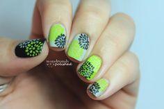 31 Day Nail Art Challenge - Day 4: Green Nails