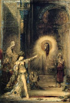The Apparition by Gustave Moreau