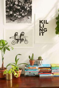 Luka Va Tandem Sloths Art Print #UOonCampus #UOContest