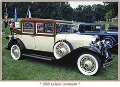 1929 LaSalle Landaulet