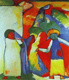 Storia e analisi di un famoso quadro di Kandinsky: Improvvisazione 6 (Africano). L'opera si colloca nel suo periodo post-impressionista ed espressionista.