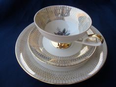 Bavarian Tea Cup Set by MyVintageFindsForAll on Etsy, $20.00