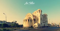 """""""The Basilica Church"""" of Heliopolis is home to one of the first pipe organs in Egypt. (Egypt)"""