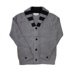 Humboldt Cardigan Gray  by Smooth Co.  (Some times, men's sweaters are so much more awesome!)