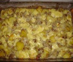 Rezept Spitzkohl Kartoffel Hackfleisch Auflauf - all in one von anriechers - Rezept der Kategorie Hauptgerichte mit Fleisch