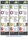 """""""ROADS"""" Bookmarks and Poster for Reading Tests {FREEBIE}"""