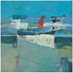 """Sharon Paster Caught In The Waves 48""""x48"""" $3520 on serenaandlily.com"""