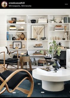 Hallway Shelving, Extroverted Introvert, Bookcase Styling, Shelfie, Built Ins, Office Desk, Living Room, Table, Courtney Stewart