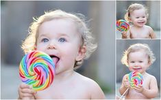 www.egmphotography.com Central PA Photographer and vendor of Organic Bloom frames. One year old photos with lollipop. One year session, one year photos, one year photo shoot.