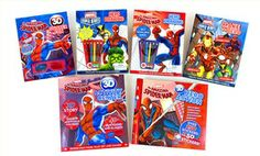 Groupon - Marvel 6-Book Activity Set in Online Deal. Groupon deal price: $19.99