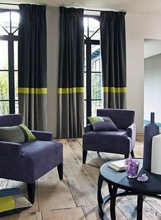 Find grey living room curtains that look beautiful Fresh Living Room, Living Room Grey, Home Living Room, Living Room Designs, Decoration Chic, Decoration Inspiration, Luxury Curtains, Drapes Curtains, Rustic Curtains