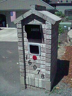 Brick Mailbox | If it's a mailbox or not, we have the tools and experience to make ...