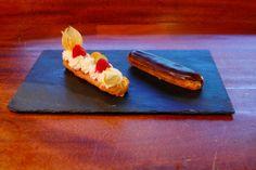 les desserts du jeudi: Duo d'éclairs aux fruits frais & au chocolat - Fre...