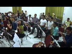 A mais bela Rosa.IGREJA APOSTOLICA ... Cuiabá MT - Orquestra.