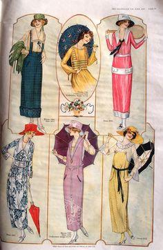 Summer fashions June 1919, The Delineator Magazine