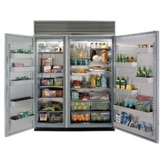 "Northland Refrigeration 60SS-SP 60"" Refrigerator/Freezer Combination With Stainless Steel Interior - Wood Panel Ready Doors"