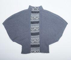 Sweater-poncho Killa