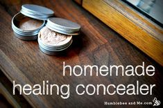 Natural Beauty Remedies Homemade Healing Concealer – let your eyes glow - Stop buying concealer that doesn't match your skin and makes you break out. Make your own healing concealer from all natural ingredients with this recipe. Piel Natural, Natural Skin, Natural Makeup, Natural Beauty, Organic Makeup, Natural Healing, Beauty Care, Diy Beauty, Beauty Secrets