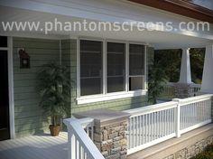 Block the sun but don't block your views - Phantom retractable screens! #phantomscreens #windows #screens #solarshading #retractablescreens  #solarshade