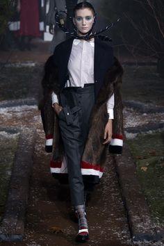 Thom Browne Fall 2016 Ready-to-Wear Fashion Show - Rita Sanders