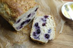 Easy Peasy Organic - Sustainable Food, Home and Life: Blueberry Quinoa Loaf