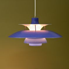PH5 pendant  designed by Poul Henningsen for Louis Poulsen, Denmark