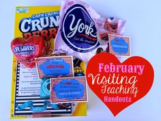 February Visiting Teaching Handouts. From Marci Coombs Blog
