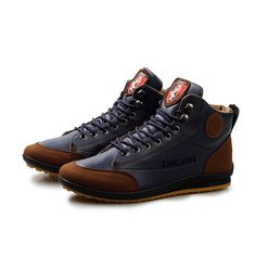 High Top Men Shoes Outdoor Male Casual Footwear