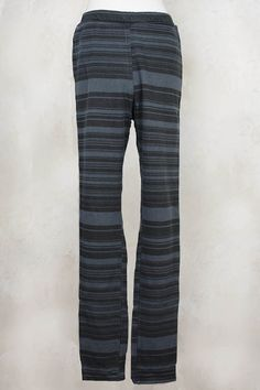 Jersey Stretch Striped Trousers in Versteck - Privatsachen