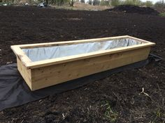Simple diy planter 8x2 ft