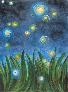 Fireflies by Kristen Fagan. Love!
