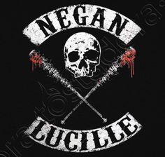 Camiseta Negan y Lucille estilo Sons of Anarchy (The Walking Dead) - nº 1223157 - Camisetas latostadora