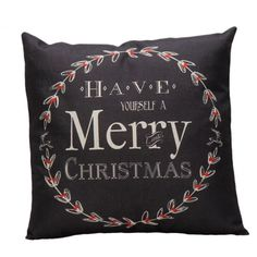 Throw Pillow Covers |Have a Merry Christmas Cover | UniikStuff