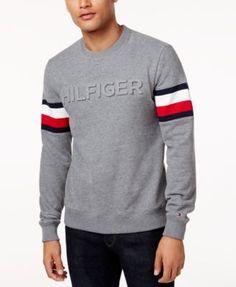 Tommy Hilfiger Men'S Everest Logo Sweatshirt - $80
