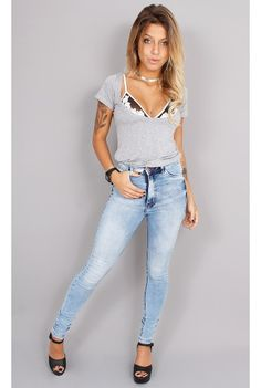 Calça Jeans Hot Pants Clara - fashioncloset