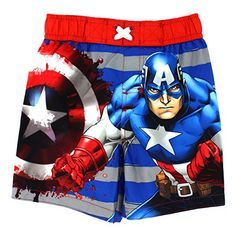 Captain America Boys Swim Trunks Swimwear (2T, Hero Red) ... http://www.amazon.com/dp/B01CPKE8AK/ref=cm_sw_r_pi_dp_kokpxb0Q38YRA