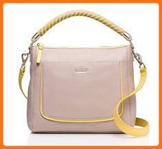 11f434b4f3ef Save big on the Kate Spade Harris Beige Yellow Leather Satchel! This  satchel is a top 10 member favorite on Tradesy.