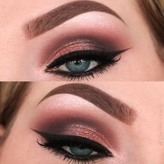 Different shades of eyeshadow for blue eyes have a different purpose. While choosing your next look, you should be careful enough not to go over the edge!#makeup#makeuplover#makeupjunkie#eyemakeup