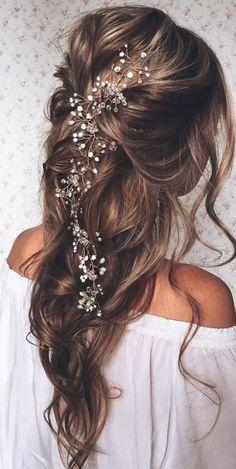 45 best wedding hairstyles for long hair 2018 wedding pinterest 20 fabulous bridal hairstyles for long hair junglespirit Gallery