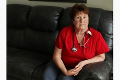 Jean Dobson is a #nurse who has been assaulted at work several times over her 42-year career.