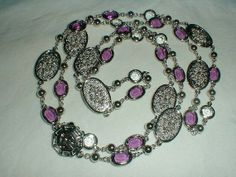 vintage st.john necklace silver plated by qualityvintagejewels, $199.00
