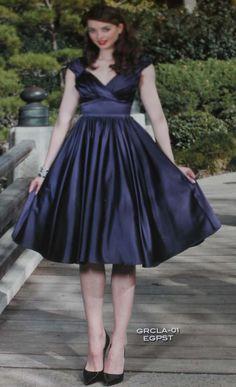 PRE ORDER New Stop Staring Indigo Blue/Purple - GRACLEA -01 EGPST Swing Dress