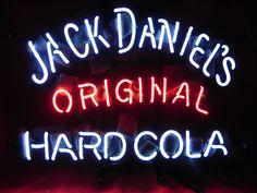 Jack Daniels Original Hard Cola Neon Light Sign 17 x 14