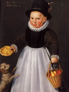 DELFF, Jacob Willemsz I Dutch Northern Renaissance painter (b. ca. 1550, Gouda, d. 1601, Delft) Portrait of a Young Boy1581Oil on panel, 62 x 48 cmRijksmuseum, Amsterdam