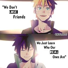 Great selection of Naruto and other Anime merchandise at affordable prices! Over 200 Anime related items: cosplay costumes, clothes, accessories and action . Naruto Quotes, Sad Anime Quotes, Manga Quotes, Sad Quotes, Life Quotes, Inspirational Quotes, Citations Naruto, Naruto Shippuden Anime, Sasunaru