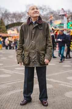 The festive cheer rang all around our recent visit to Winter Wonderland - where we bumped into John wearing his trusty Barbour Ashby Wax Jacket!